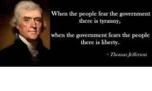 Tyranny Vs Liberty